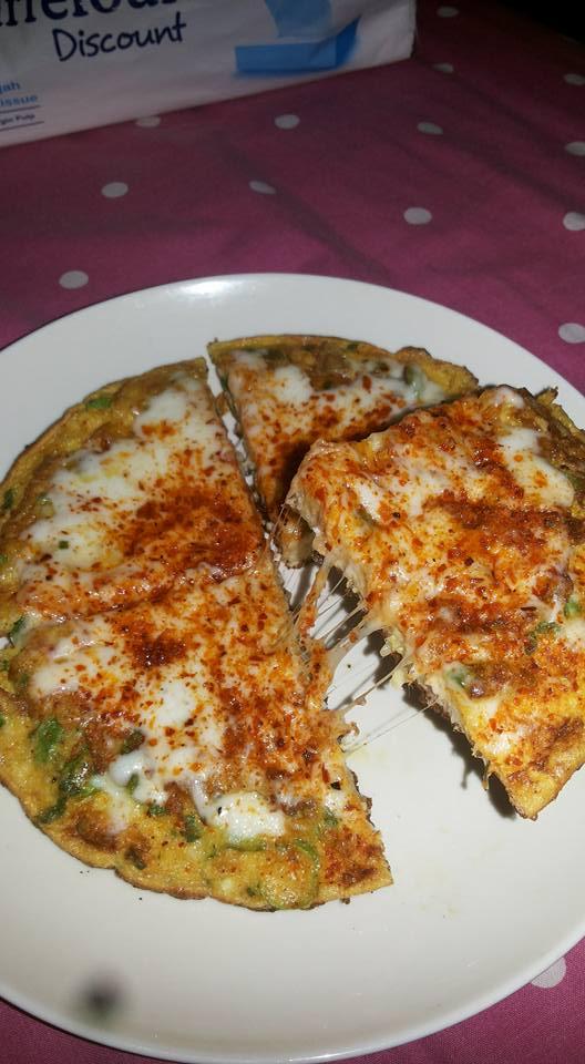 Pizza Nasputel Keju Mozarella by Amelia Soebiyanto