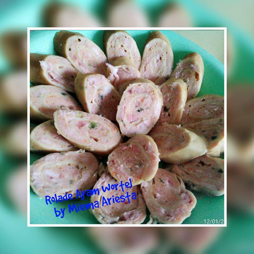 Carrot Chicken Rolade By Miema Ariesta Directlyenak Com