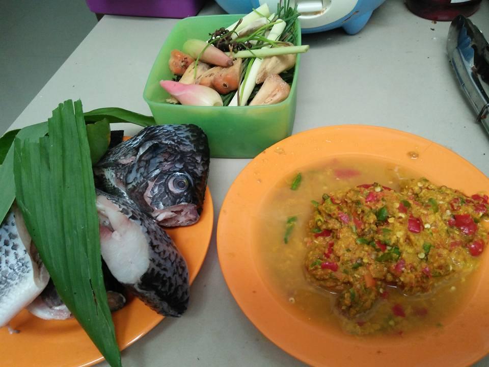 bahan arsik ikan nila