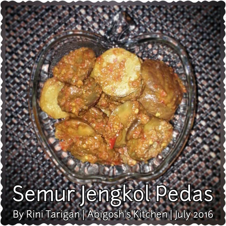 Semur Jengkol Pedas by Rini Tarigan