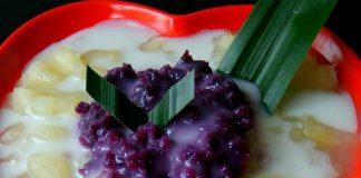 Singkong Thailand (dengan ubi ungu) by Kahla Nafieza