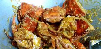 Kepiting Telur Asam Manis by Ie Pe Rasbondee