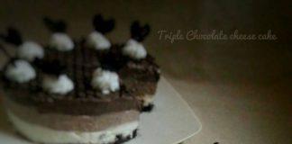 Triple Chocolate Cheesecake by Achsana