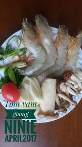 bahan Tom Yam Goong by Ninie April