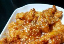 Honey & Garlic Crispy Chicken by Febia Darmawan