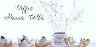 Coffee Panna Cotta by Andriana Irma