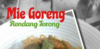 Mie Goreng Rendang Terong by Fitriani S Emnoer