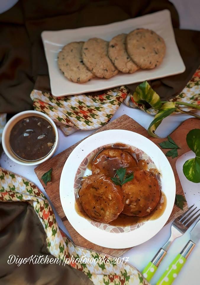 Steak Tempe Saus Lada Hitam by Aisyah Di'Yo