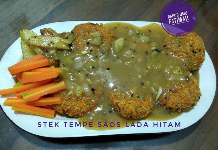 Steak Tempe by Atikah Lestari