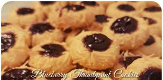 Blueberry Thumbprint Cookies by Susana Gracia Chatrine