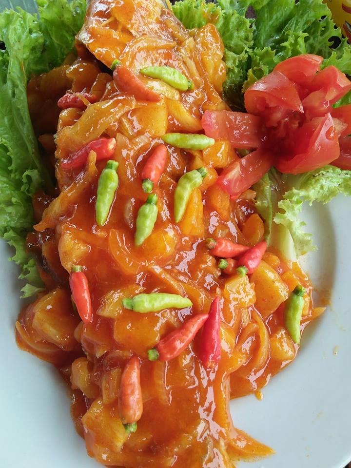 Ikan kakap Merah Saos Padang by Ummul Khair