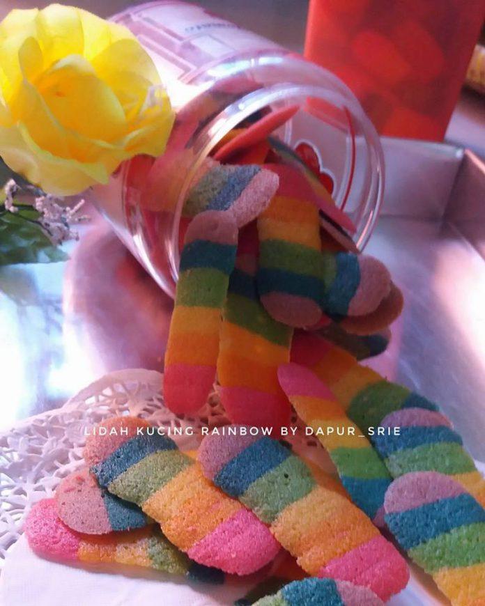 Lidah Kucing Rainbow by Srie Mloktabeila