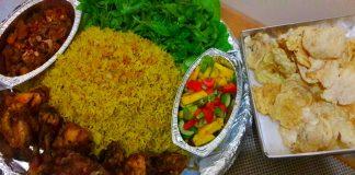 Nasi Kebuli Ayam Goreng by Inne Agustina