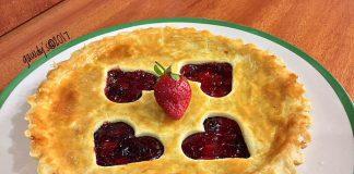 Strawberry Pie by Hilda Gaudensia Balanda