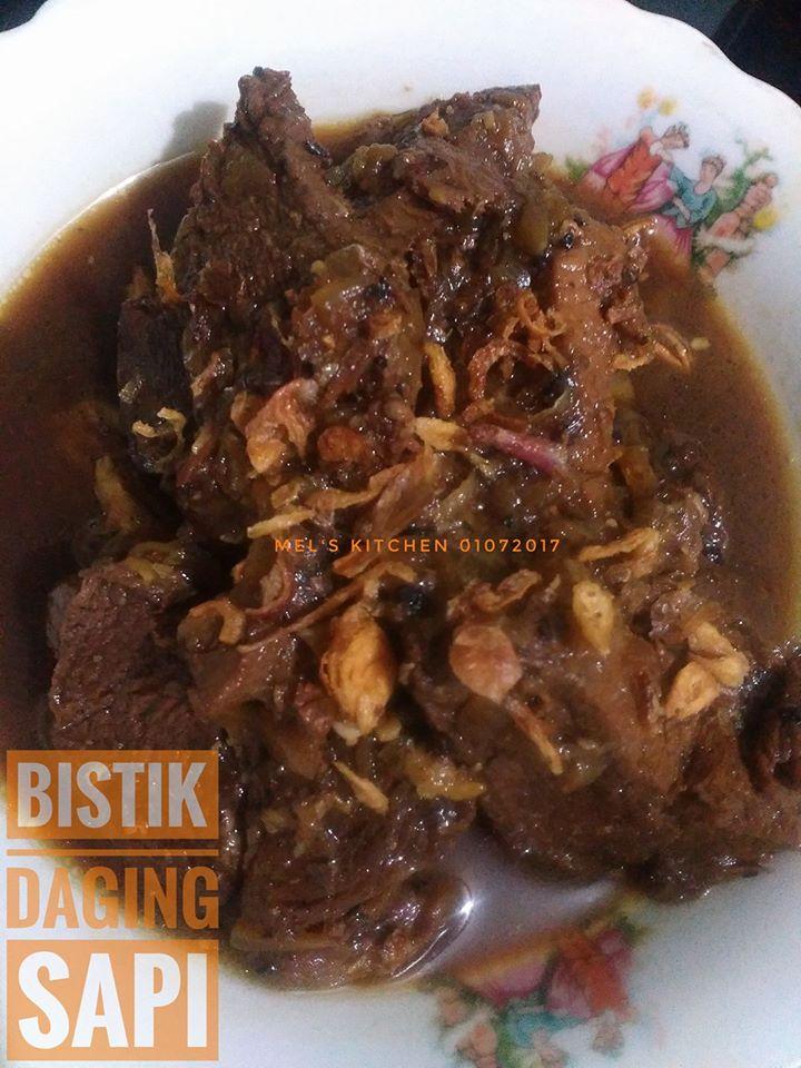 Bistik Daging Sapi by Melany Sam's