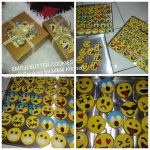 Emoji/Emoticon Butter Cookies by Mayastika Usa