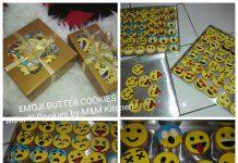Emoji/Emoticon Butter Cookies by Mayastika Usa