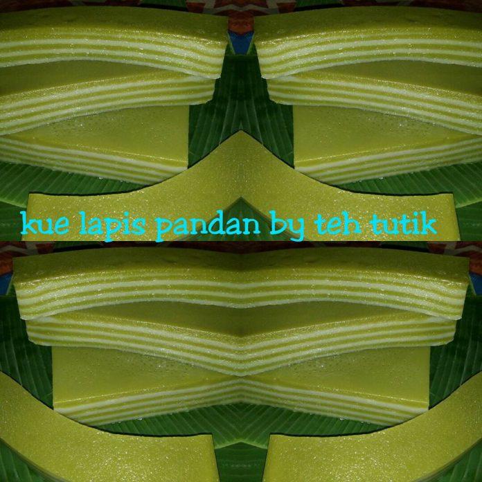 Lapis Pandan Asli by Teh Tutik