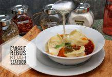 Pangsit Rebus Kuah Kaldu Seafood by Resty Ayu Deswari