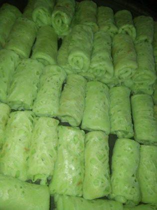 Roti Jala Ketan Srikaya Durian by Teh Tutik