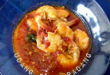 Udang Saus Padang by Mhiu Regina Sitohang