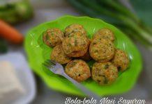 Bola-bola Nasi Sayuran by Aurellia Hening
