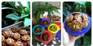Cookies Kacang Coklat by Leliana Pongoh
