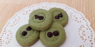 Greentea Choco Cookies by Nisa Sartika