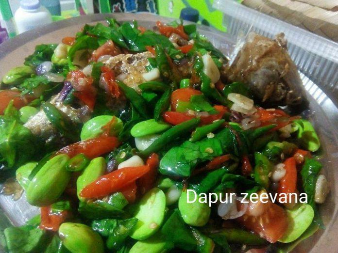 Ikan Peda Tumis Daun Melinjo by Zeevana