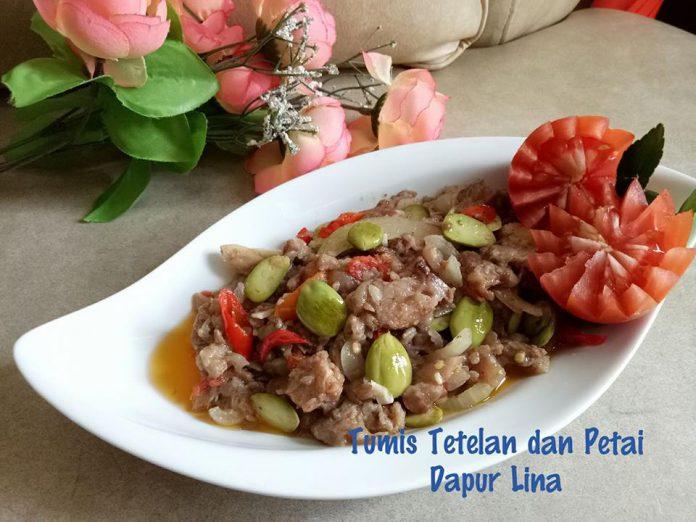 Tumisan Tetelan dan Petai by Erlina Wati