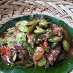 Tumis Ikan Peda Petai by Dewi