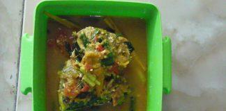 Woku Belanga Ikan Tongkol by Fitri