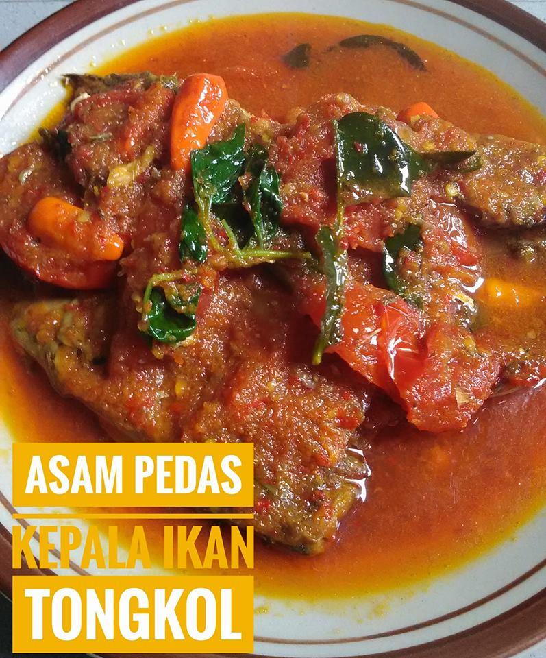 Asam Pedas Kepala Ikan Tongkol By Dzakiyyah Asih P