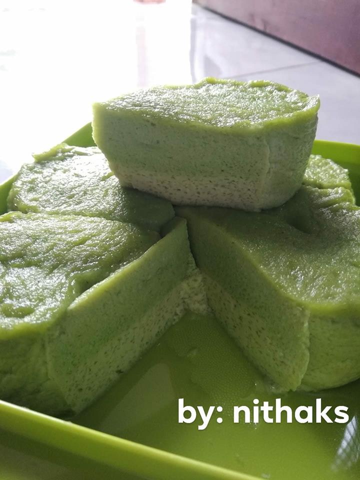 Resep Bingka Telur Pandan by Nitha Kumala Sari