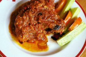 Ayam Kampung Bakar Bumbu Taliwang by Kiromatil Baroroh