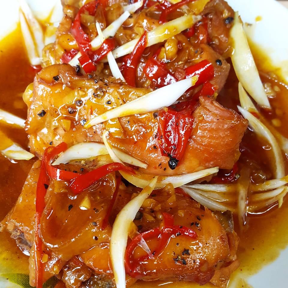 Ayam Saus Merah by Kiromatil Baroroh