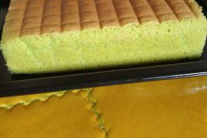 saponge cake pandan