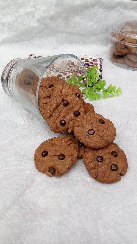 Double Choco Cookies by Nisa Dapurvenus