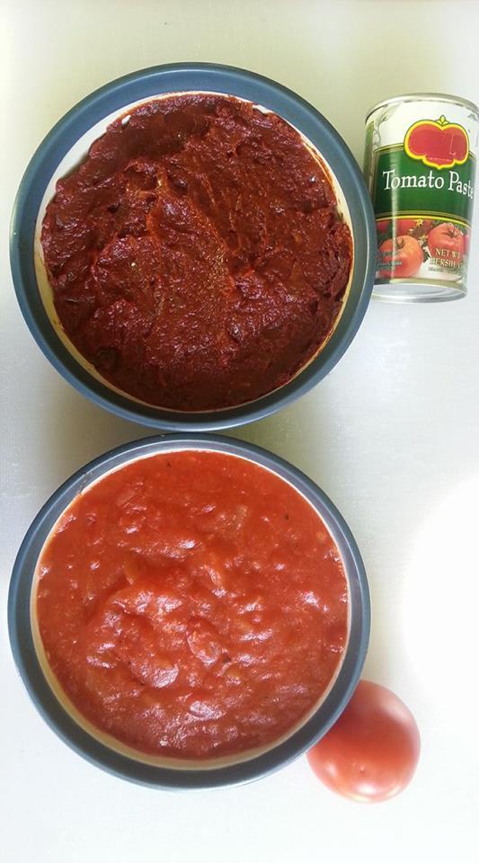 saus pizza tomat kalengan vs tomat segar