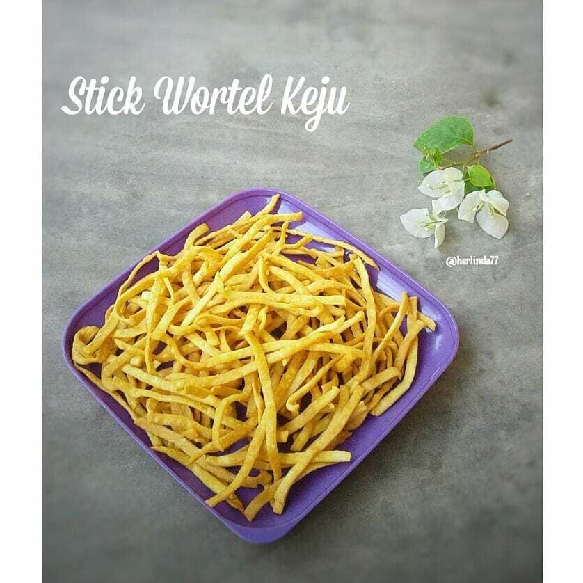 stick wortel keju