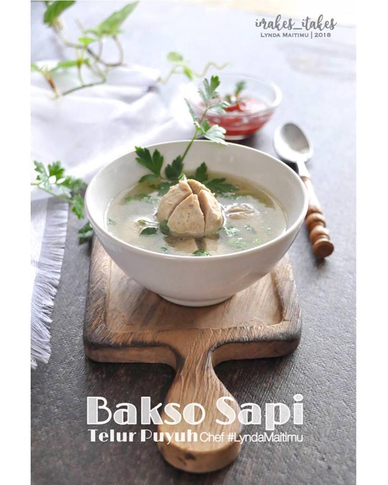 Baso Sapi Isi Telur Puyuh by Lynda Maitimu Timman