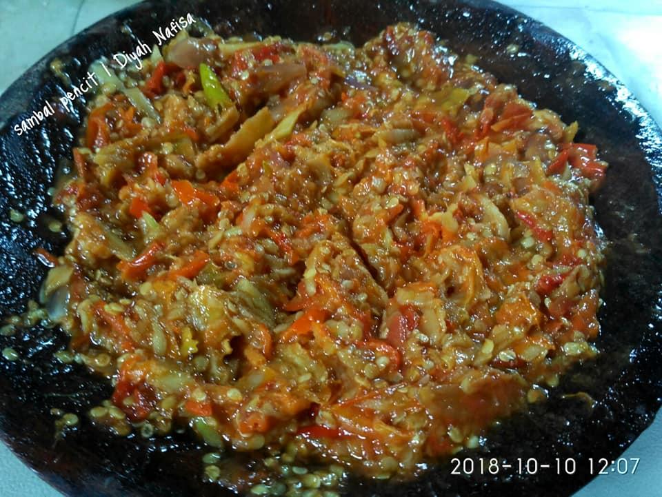 sambal pencit