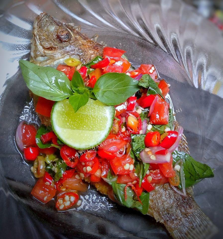 ikan sambal dabu
