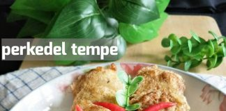 Perkedel Tempe by Kak Rose