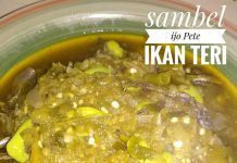 Sambel Ijo Pete Ikan Teri by Dessy Cendrakasih