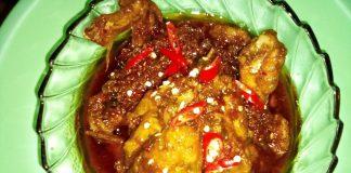 Ayam Kecap Pedas by Zenitha Yangbaru