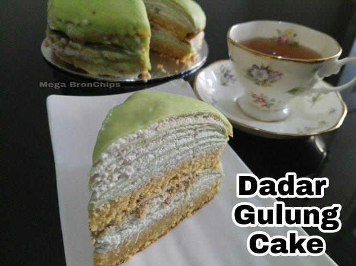 Cake Dadar Gulung by Mega Siswindarto