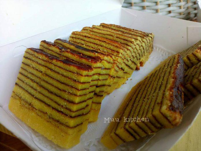 Cake Lapis lembut by Muu Razak