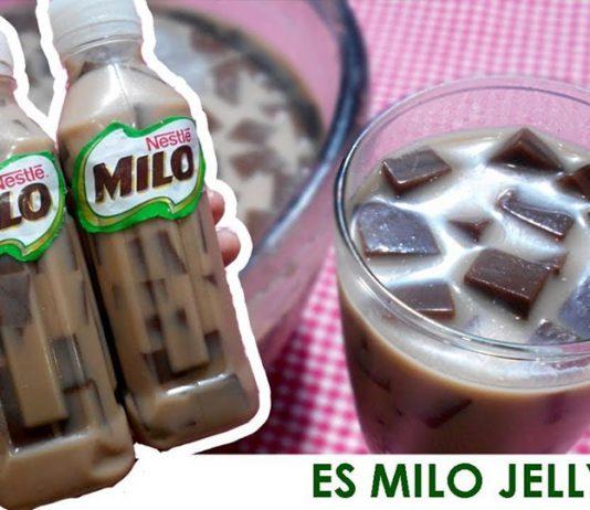 Es Milo Jelly Coklat by Ardiyanti Ulyana