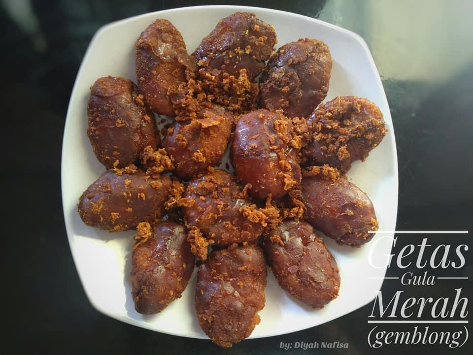 Getas Gula Merah Gemblong By Diyah Nafisa Langsungenak Com